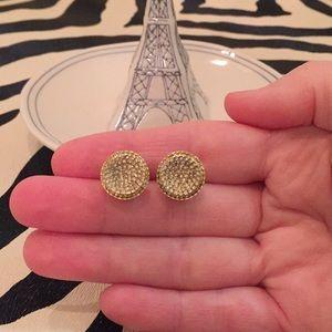 Michael Kors Jewelry - Michael Kors Pave Earrings